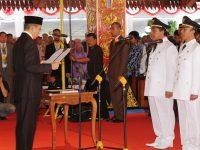 Bupati dan Wakil Bupati Lobar Dilantik, Gubernur Optimis Lobar Lebih Maju