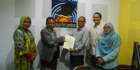 Jelang Usia 13 Tahun, Radio Global FM Lombok Terima IPP Tetap