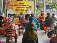 Sambil Reses, Anggota Dewan Ajak Masyarakat Tingkatkan Prokes Jadi 6M