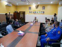 Kunjungi Suara NTB dan Radio Global FM Lombok, Kapolda Perkuat Sinergi Membangun Daerah