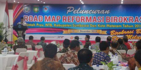 Road Map Reformasi Birokrasi Tiga Pemerintah Daerah Diluncurkan