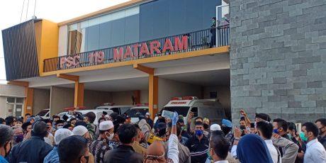 Lagi, Warga Jemput Paksa Jenazah Covid-19 di RSUD Kota Mataram