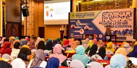 Seminar Nasional Bahas Stunting, Butuh Sinergitas Semua Pihak