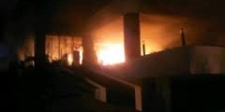 Diduga Korslet, Arus Listrik Picu kebakaran di Asrama Polres Mataram