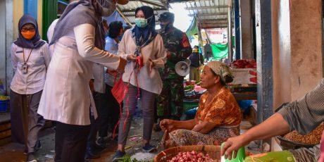 Wagub Ancam Tutup Pasar dan Toko yang Tak Terapkan Protokol Covid