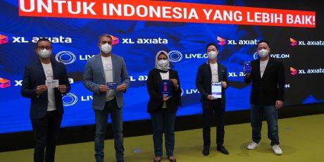 XL Axiata Luncurkan Live.On, Layanan Data Yang Makin Menguntungkan