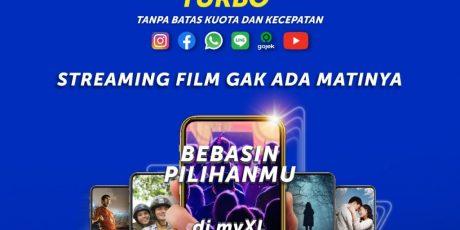 "Bebas Akses ke Aplikasi Film Favorit Lewat Fitur Baru ""Xtra Unlimited Turbo"""